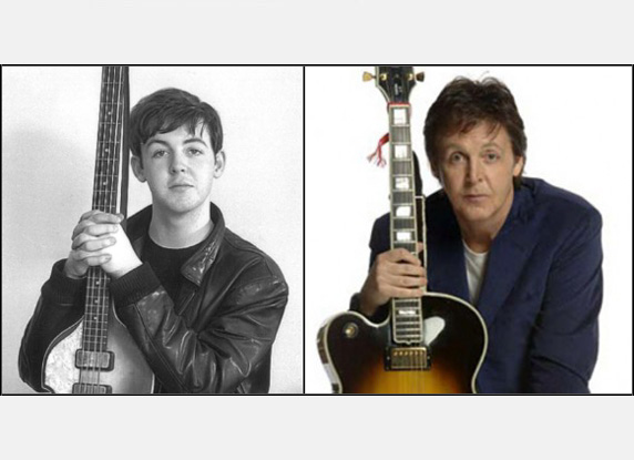 Paul McCartney: Then & Now