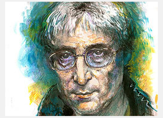 John Lennon In Old Age?